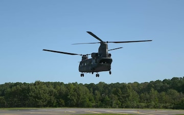 Army Chinook takes flight with T408 engine