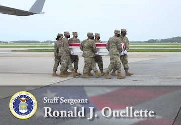 Air Force Staff Sgt. Ronald J. Ouellette - Dignified Transfer