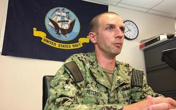 HT1 Grant Peterson - Navy Week