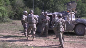 1st Cavalry Division acts as High Control during Combined Resolve XIV