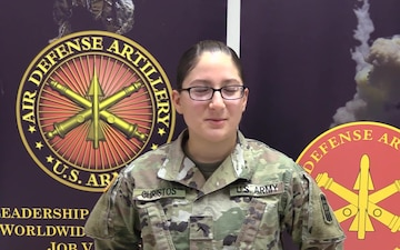 Why I Serve: Pv2. Demettra Christos, 14G Air Defense Battle Management Operator