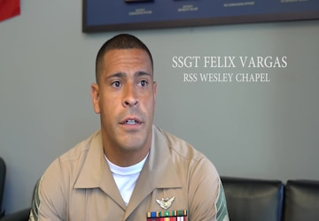 Marine discusses fitness