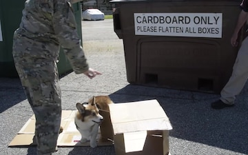 Recycle Right at the 166th Airlift Wing