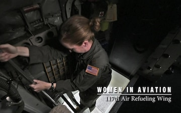 The 117th Air Refueling Wing Honors Women In Aviation