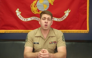 Staff Sgt Ward talks about Marine Corps Educational Opportunities