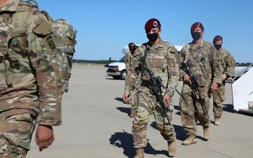 2BCT, 82nd Abn. Div. Paratroopers Redeploy