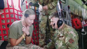 139th Aeromedical Evacuation Squadron Montana Cross-Country Training