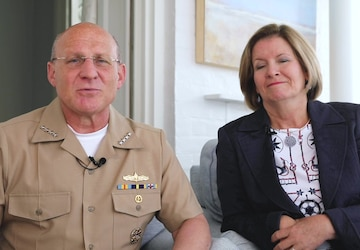 CNO and Linda Gilday's 245th Navy Birthday Message