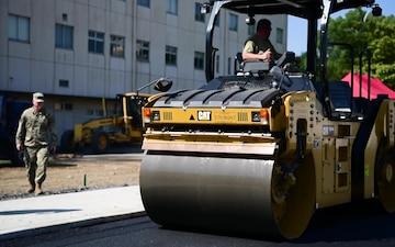 The 374th Civil Engineer Squadron's Dirt Boys Help Improve Yokota
