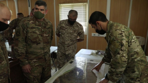 Task Force Spartan Soldiers Participate in Bilateral Exercise Decisive Spear