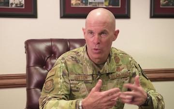 Maj Gen Mike Lutton DV Visit to Minot AFB