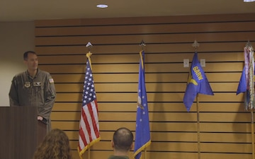 91st Air Refueling Squadron Change of Command