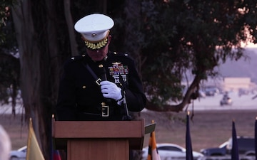 Camp Pendleton hosts the 78th Annual Evening Colors Ceremony