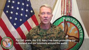 USCENTCOM wishes the U.S. Navy a happy 245th birthday