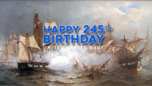 U.S. Navy 245th Birthday