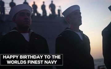 U.S. Navy Celebrates 245 Years