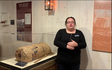 Sails Unfurled exhibit at National Museum of the American Sailor