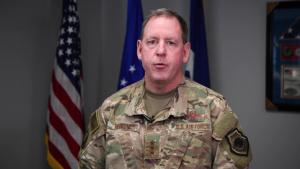General Hecker Gives Congratulations