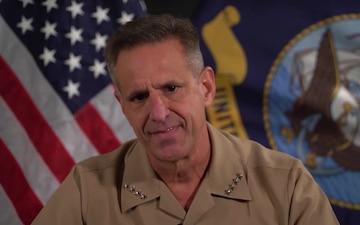 NSA Naples Celebrates Navy's 245th Birthday, Virtually