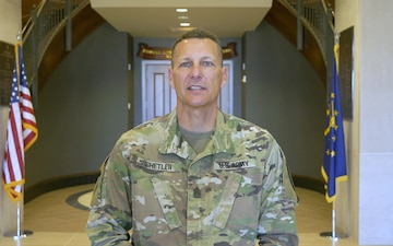 Indiana State Command Sergeant Major Shetler