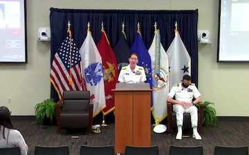 DISA Joint Operations Center holds change of command ceremony