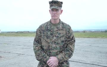 MARFOREUR/AF Commander visits Georgia