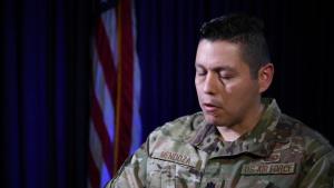 Lt. Col. Mendoza Speaks on Hispanic Heritage