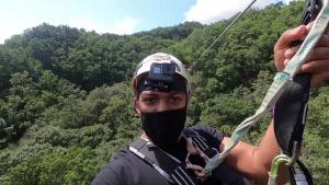 Exploring the ROK: Zip-lining