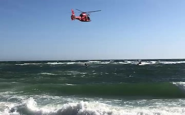 Coast Guard rescues 3 boaters off of Fire Island