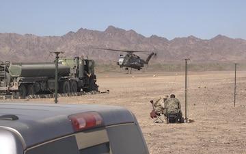 WTI Marines Conduct a FARP at Bull Assault
