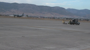 Humanitarian efforts: 37th Airlift Squadron