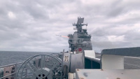USS Iwo Jima Conducts Live Fire With a Purpose Exercise