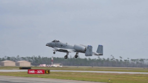 A-10s fly at Tyndall