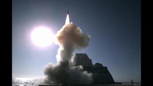 USS Zumwalt (DDG 1000) Live-Fire Test of SM-2 Missile
