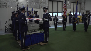 WPAFB Honor Guard End of Rotation Ceremony