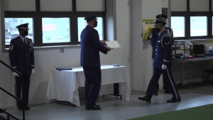 WPAFB Honor Guard Graduation
