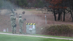 339th Military Police Company Firing Range
