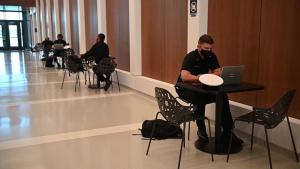 USNA Opens Hopper Hall