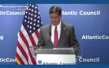 Esper Talks About Role of Alliances, Partnerships in U.S. Security