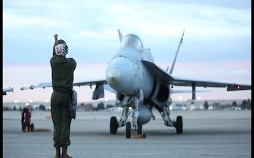 VMFAT-101 prepares jets, takes flight in Boise
