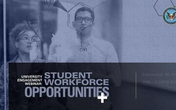 DTRA's University Engagement Webinar: Student Workforce Opportunities