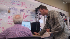 SLATED VERSION - Around the Air Force: Air Expeditionary Wings, Data Sharing, ALS Online, and Energy Awareness