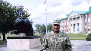 3rd Infantry Division soldier shout-out to the Alabama Crimson Tide