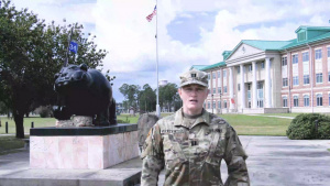 3rd Infantry Division soldier shout-out to the Chicago Bears
