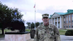 3rd Infantry Division soldier shout-out to the Cleveland Browns