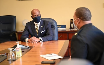 NRC Meets with Coppin State University President