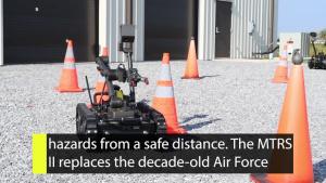 Inside AFIMSC EOD Medium-size Robot