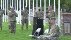 Activation of Task Force Dark Rifle Ceremony