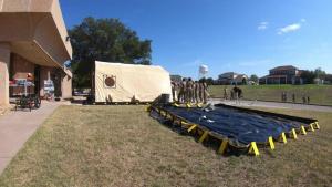 17 MDG In-Place Patient Decon Tent Setup Hyperlapse