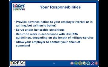 Tennessee ESGR USERRA Training Brief